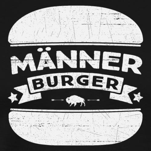 Männer Burger - Männer Premium T-Shirt