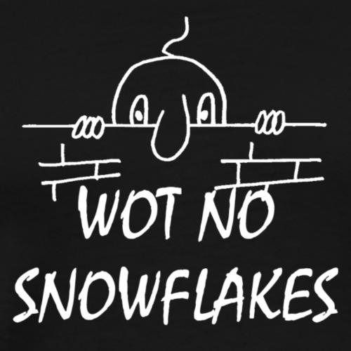 SNOWFLAKESWHITE - Men's Premium T-Shirt