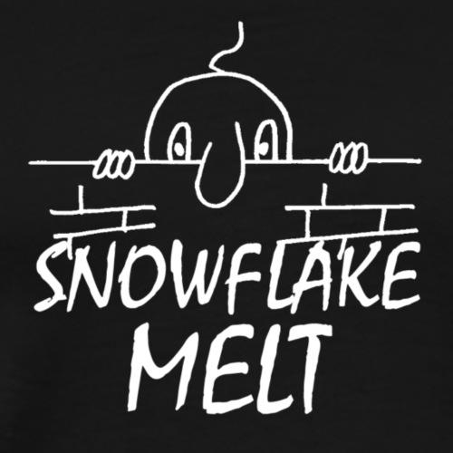 SNOWFLAKEMELTWHITE - Men's Premium T-Shirt