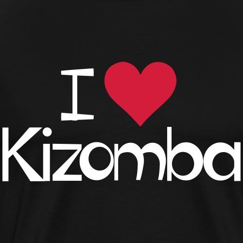 I love Kizomba - Kizomba Dance Shirt - Männer Premium T-Shirt