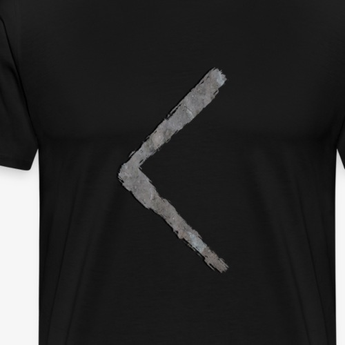 Kenaz #6 Stone By TheRawburt - Premium-T-shirt herr