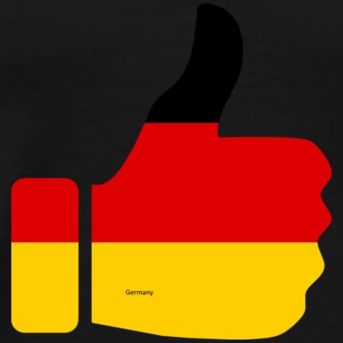 Deutschland Daumen nach oben!