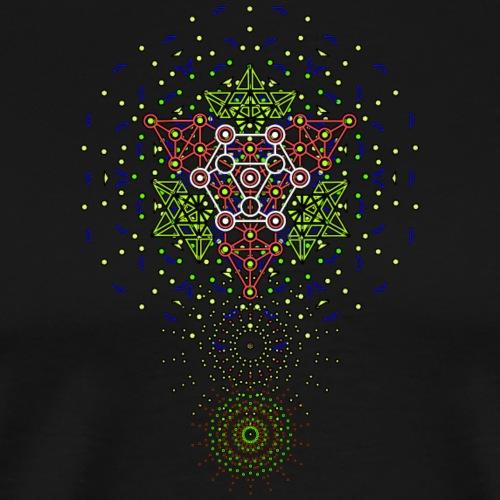 Star Geometrica front 2 - Camiseta premium hombre