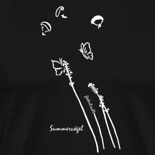 Summervögel (Schmetterlinge) - Männer Premium T-Shirt