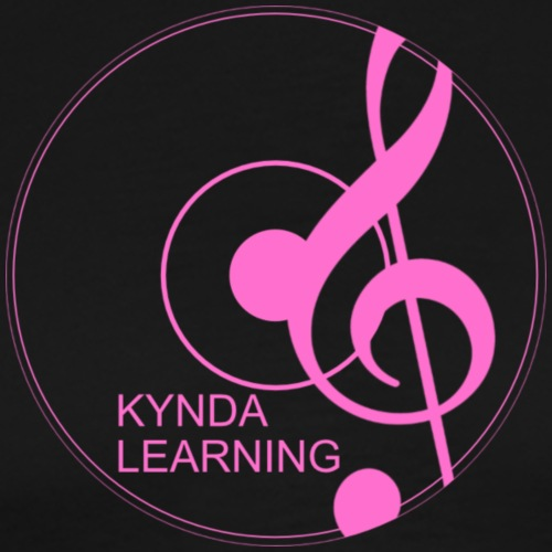 New Kynda Learning Logo PNK - Men's Premium T-Shirt