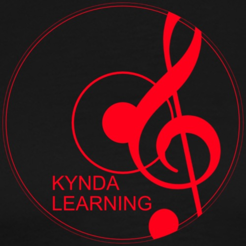 New Kynda Learning Logo RED - Men's Premium T-Shirt