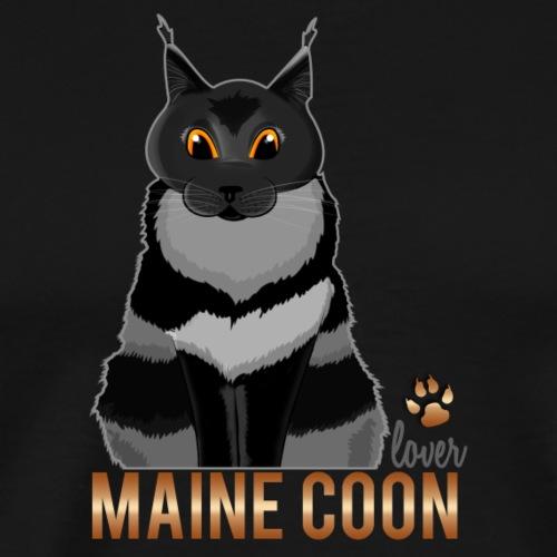 Maine Coon lover - T-shirt Premium Homme