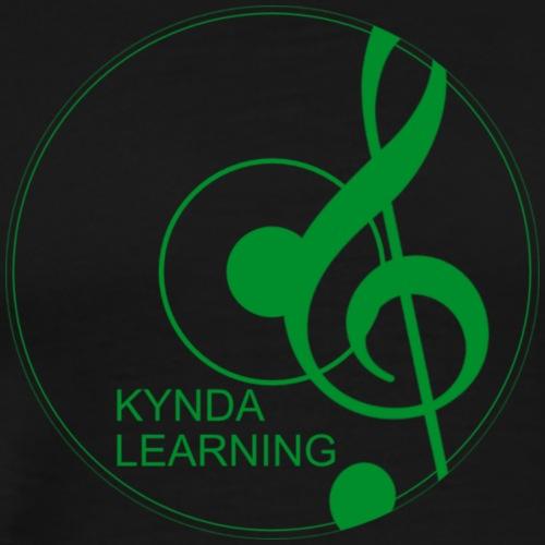 New Kynda Learning Logo GRN - Men's Premium T-Shirt