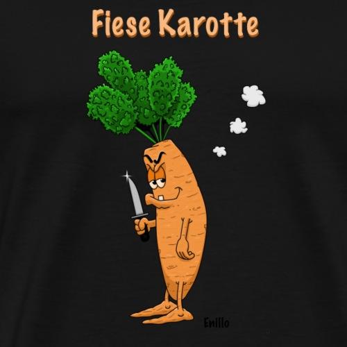 Fiese Karotte von Enillo - Männer Premium T-Shirt