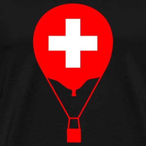 Gasballon im schweizer Design - Men's Premium T-Shirt