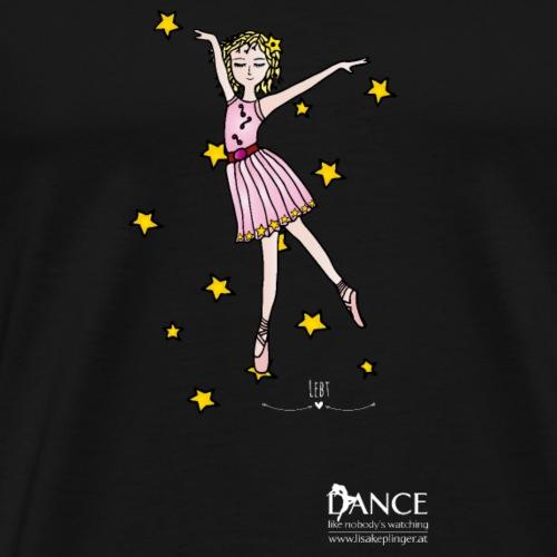 Ballerina Lisa - Männer Premium T-Shirt