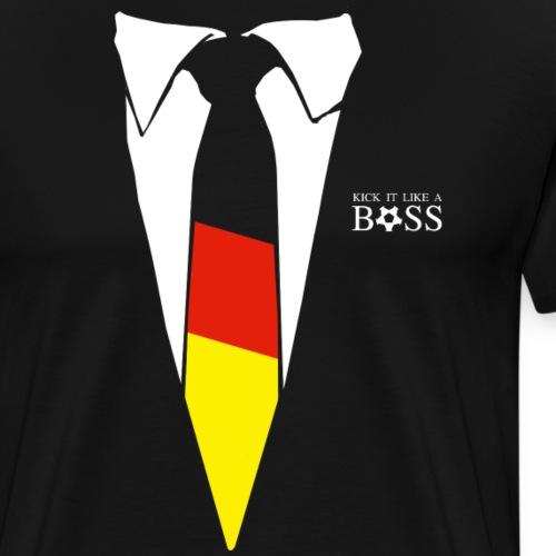 Kick ist like a Boss - Männer Premium T-Shirt