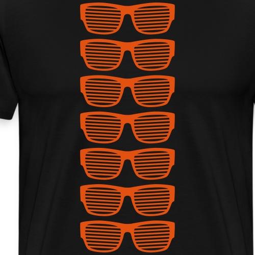 Sonnenbrillen Sommer strahlend taghell ultra cool - Men's Premium T-Shirt