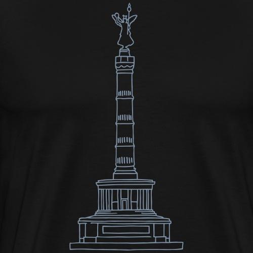 Colonna della Vittoria Berlino - Maglietta Premium da uomo