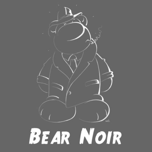 Bear Noir Harter kerl mit weichem Fell - Männer Premium T-Shirt