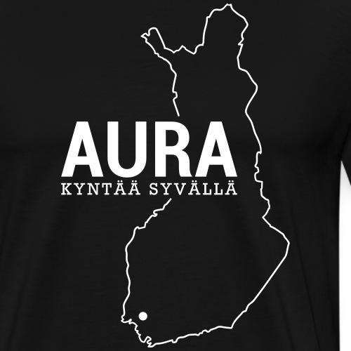 Kotiseutupaita - Aura - Miesten premium t-paita