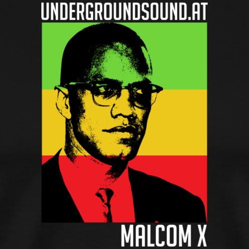 Malcom X undergroundsound - Männer Premium T-Shirt