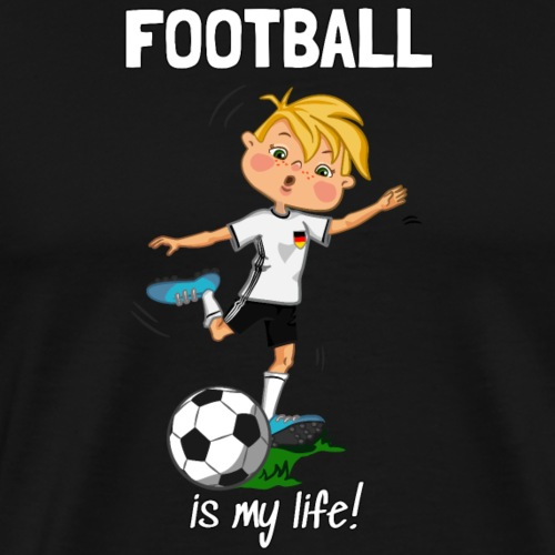 football_germany_Scritta - Men's Premium T-Shirt