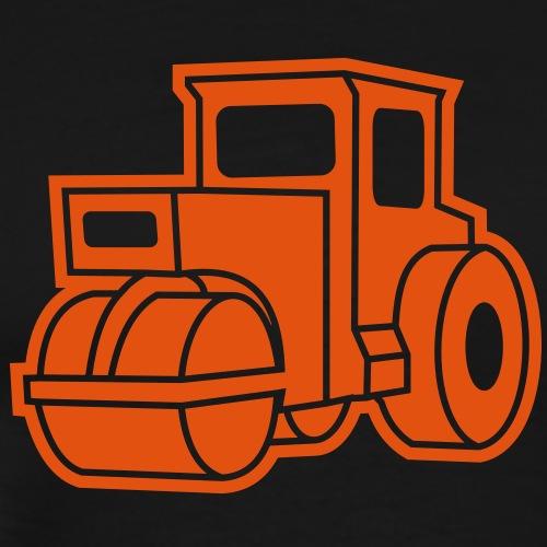 1 col - Dampfwalze Traktoren Steam-powered rollers - Männer Premium T-Shirt