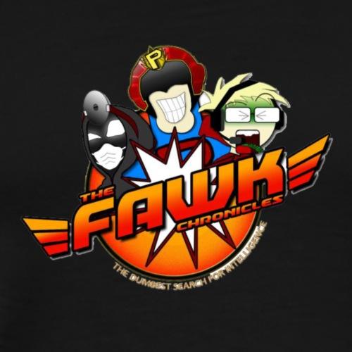 FAWK Chronicles Logo - Men's Premium T-Shirt