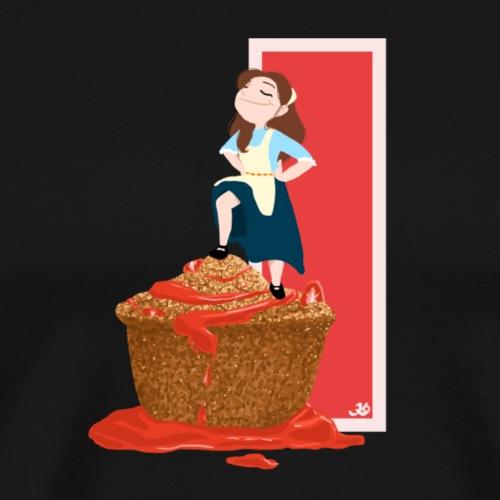 Dessertie 1 - Mannen Premium T-shirt