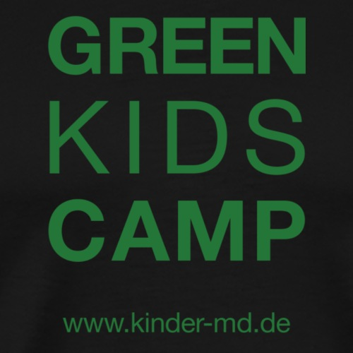 Green Kids Camp - Männer Premium T-Shirt