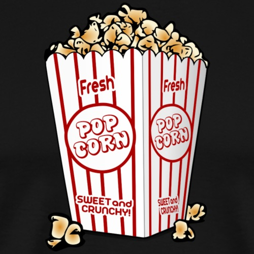 Popcorn - Männer Premium T-Shirt