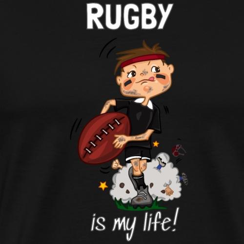 Rugby - Men's Premium T-Shirt
