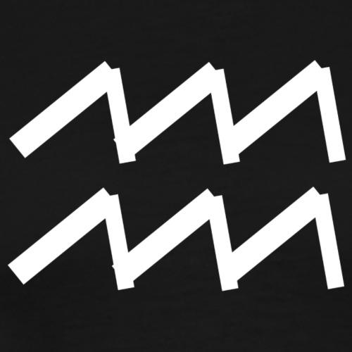 Wassermann Sternzeichen - Männer Premium T-Shirt