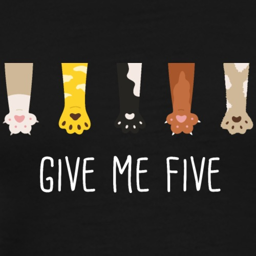 give me five W - T-shirt Premium Homme