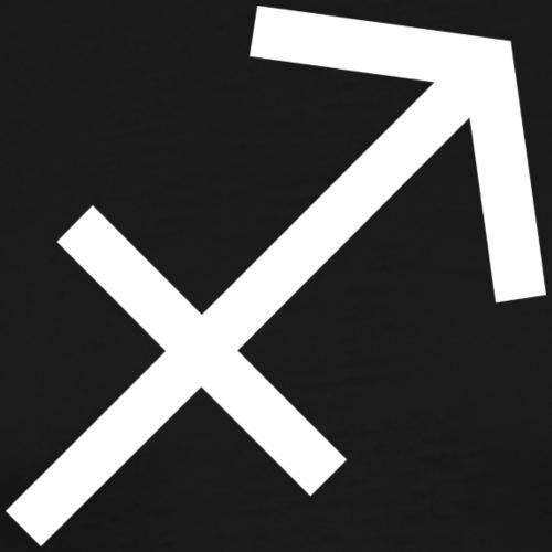 Schütze Sternzeichen - Männer Premium T-Shirt