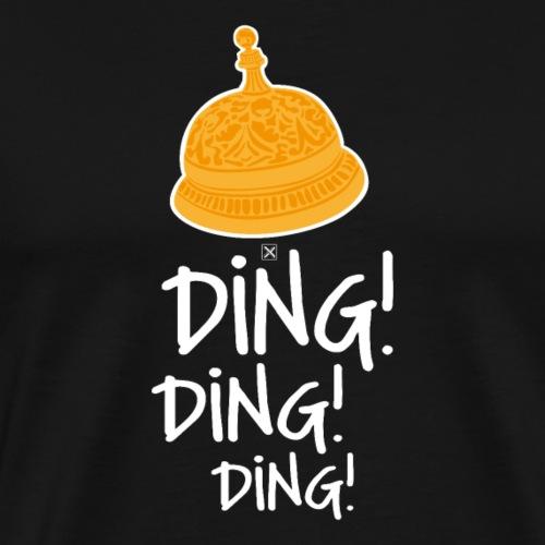Ding ding ding - Camiseta premium hombre