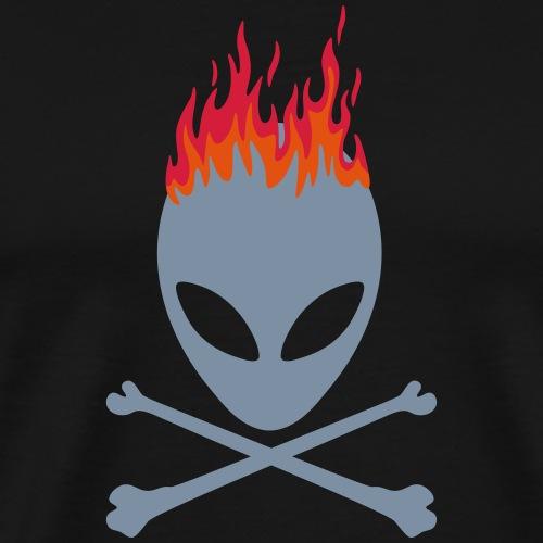 alien flamme - T-shirt Premium Homme