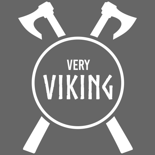 Very Viking Brand - Herre premium T-shirt