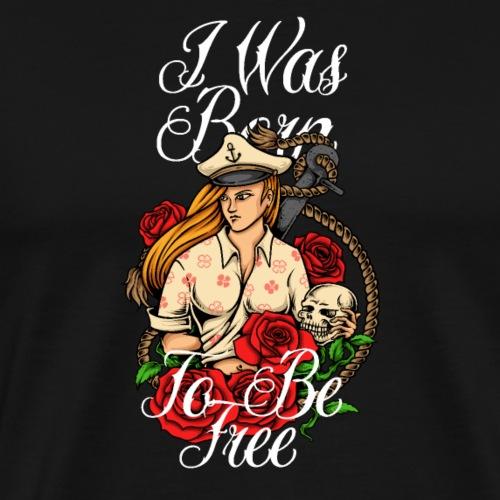 Die Tochter des Kapitäns - Männer Premium T-Shirt