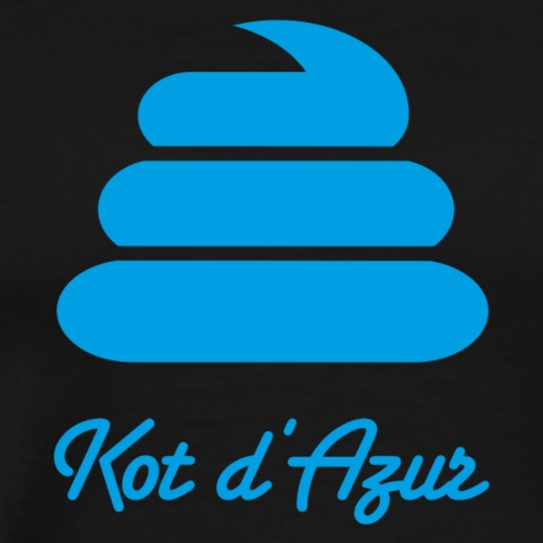 Kot d'Azur - Männer Premium T-Shirt