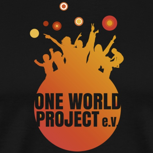 One World Project e. V. - Logo - Männer Premium T-Shirt