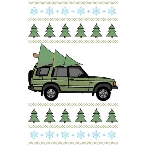 Discovery 2 Green Christmas - Premium-T-shirt herr