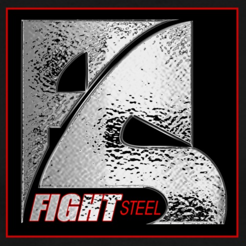 FIGHT STEEL 1 - T-shirt Premium Homme