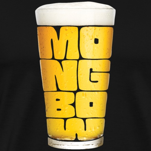 Cold Pint of Mongbow - Men's Premium T-Shirt