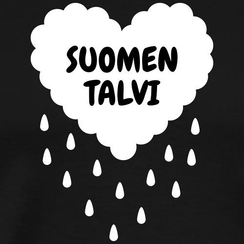 Suomen talvi - Miesten premium t-paita