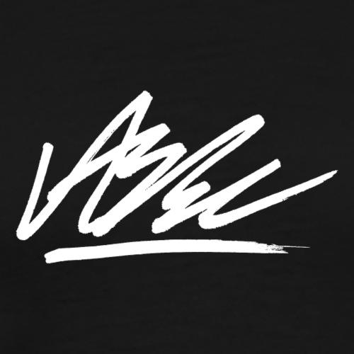 Autograf Vit - Premium-T-shirt herr