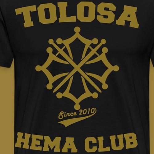 Tolosa HEMA Club - T-shirt Premium Homme