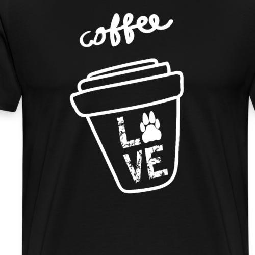 Coffee Love Kaffee Liebe - Männer Premium T-Shirt