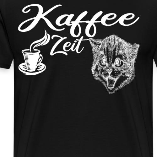 Kaffee zeit - Männer Premium T-Shirt