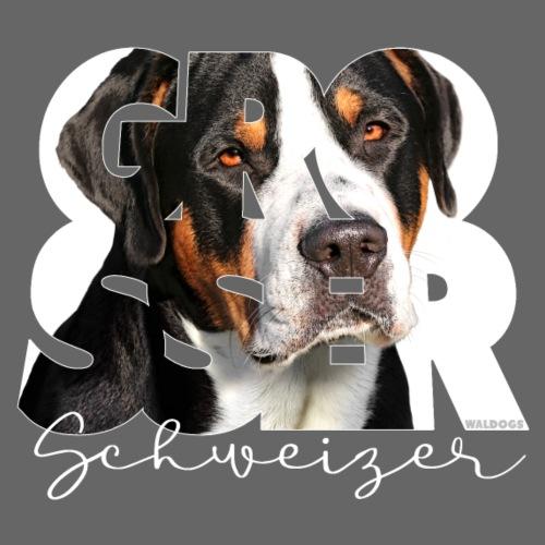 Grosser Schweizer - Miesten premium t-paita