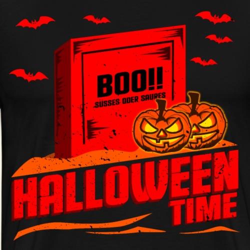 Grabstein Süsses oder Saures Halloween Time