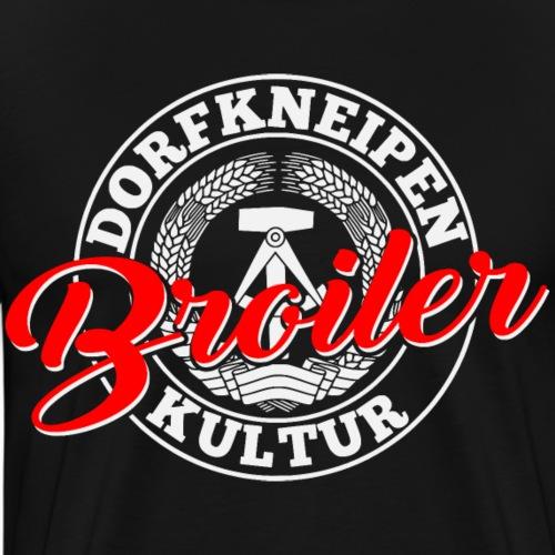 Dorfkneipenkultur Broiler - Männer Premium T-Shirt