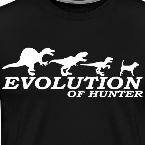 Evo. Hunter - Männer Premium T-Shirt
