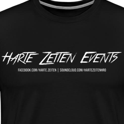 Harte Zeiten Events - Social Linked - Männer Premium T-Shirt